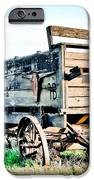 Vintaged Covered Wagon IPhone Case by Athena Mckinzie