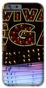 Viva Vegas Neon IPhone Case by Bob Christopher
