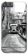 Waiting For The Tram In Istanbul IPhone Case by John Rizzuto