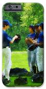 Waiting To Go To Bat IPhone Case by Susan Savad