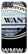 Washington's Most Wanted IPhone Case by Tikvah's Hope