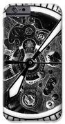 Watch Hands IPhone Case by John Rizzuto