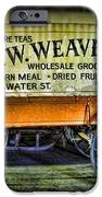 Water St. -  Chicago - The Salesman  IPhone Case by Paul Ward
