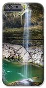 Waterfall At Hamilton Pool IPhone Case by David Morefield