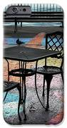 Waterfront Seating IPhone Case by Charline Xia