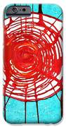 Web Of Life Original Painting IPhone Case by Sol Luckman