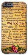 Welcome IPhone Case by Bedros Awak