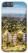 Welcome To Hollywood IPhone Case by Natasha Bishop