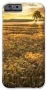 Wheat Fields Of Switzerland IPhone Case by Debra and Dave Vanderlaan