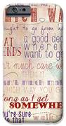 Which Way IPhone Case by Heather Applegate