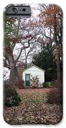 White House In The Garden IPhone Case by John Rizzuto