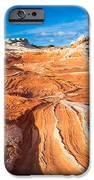 Wild Sandstone Landscape IPhone Case by Inge Johnsson