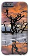 Wildfire IPhone Case by Debra and Dave Vanderlaan