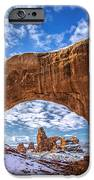 Window Through Time IPhone Case by Dustin  LeFevre