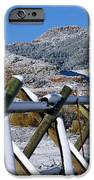 Winter On Horsetooth Mountain IPhone Case by Emily Clingman