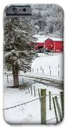 Winter Road Square IPhone Case by Bill Wakeley