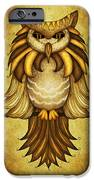 Wise Owl IPhone Case by Brenda Bryant
