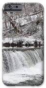Wissahickon Waterfall In Winter IPhone Case by Bill Cannon