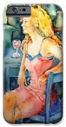 Woman Waiting  IPhone Case by Trudi Doyle