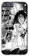 Wonder Woman Battle IPhone Case by Ken Branch