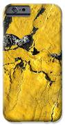 Yellow Line Abstract IPhone Case by Luke Moore