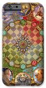 Zodiac Mandala IPhone Case by Ciro Marchetti