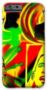 4 Rasta Obama IPhone Case by Tony B Conscious