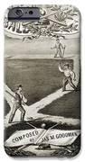 Baseball Polka, 1867 IPhone Case by Granger