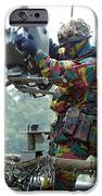 Belgian Soldiers Setting Up The Milan IPhone Case by Luc De Jaeger
