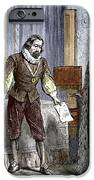 Francis Bacon, English Philosopher IPhone Case by Sheila Terry