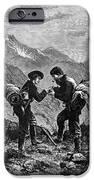 Gold Prospectors, 1876 IPhone Case by Granger