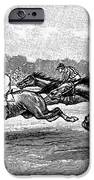 Horse Racing, 1900 IPhone Case by Granger