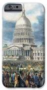 Lincoln Inauguration, 1865 IPhone Case by Granger