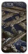 Mining Disaster, 19th Century IPhone Case by Sheila Terry