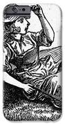Mother Goose: Bo-peep IPhone Case by Granger