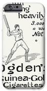 Ogdens Cigarettes, 1897 IPhone Case by Granger