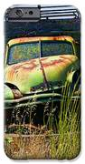 Old Green Truck IPhone Case by Garry Gay