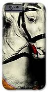 Portrait Of A Carousel Pony IPhone Case by Colleen Kammerer