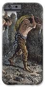 Roman Slavery: Coal Mine IPhone Case by Granger