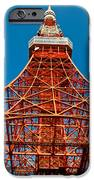 Tokyo Tower Faces Blue Sky IPhone Case by Ulrich Schade