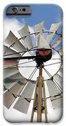 Windmill IPhone Case by Teresa Blanton