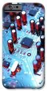 Circuit Board IPhone Case by Tek Image