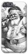 Thomas Nast: Santa Claus IPhone Case by Granger