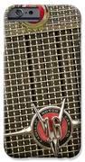 1930 Cadillac 452 Fleetwood Grille Emblem IPhone Case by Jill Reger