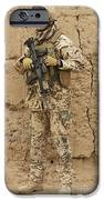 A German Army Soldier Armed With A M4 IPhone Case by Terry Moore
