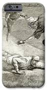 Baseball Game, 1885 IPhone Case by Granger