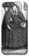 Elizabeth I (1533-1603) IPhone Case by Granger