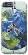 Monitoring Earth, Conceptual Artwork IPhone Case by Laguna Design