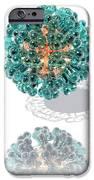 Virus, Computer Artwork IPhone Case by Laguna Design