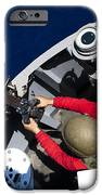 A Sailor Fires A .50-caliber Machine IPhone Case by Stocktrek Images